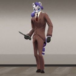 Rarity Spy Model by BigDub