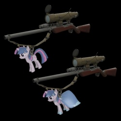 Twilight Sparkle Botkiller Sniper Rifle