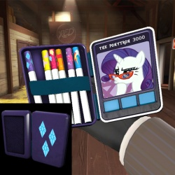 Rarity's Beauty Case